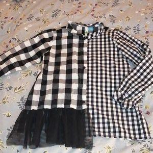 Blu by blu kids blouse size 8